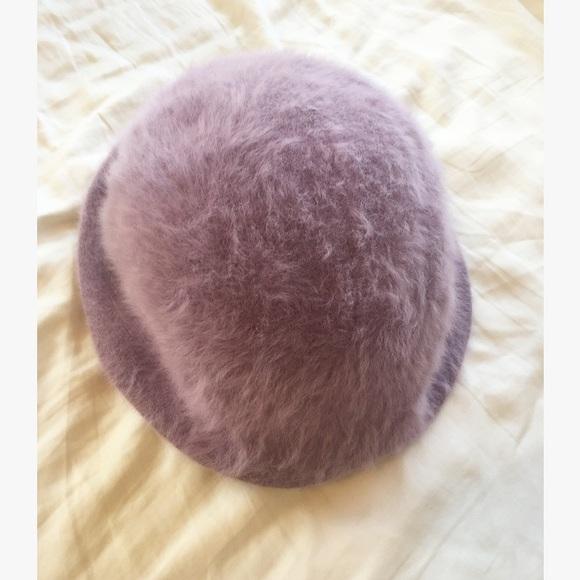 8119db9ac73 Kangol Accessories - Vintage Kangol Lavender Fuzzy Angora Bucket Hat